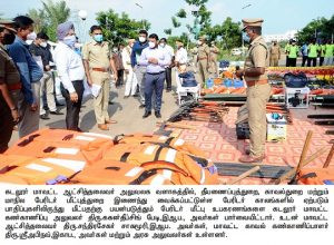 Cuddalore District Monitoring Officer Inspection