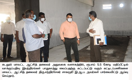 Inspection of Electronic Voting Machine warehouse