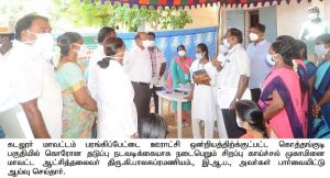 Inspected Corona Care Centre and medical camps