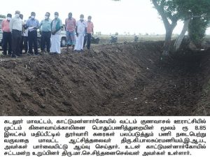 District Collector Inspected Projects