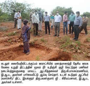 Inspection on various projects