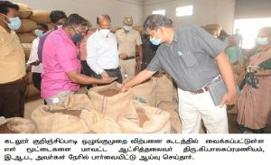 Inspection of Paddy Procurement Stations
