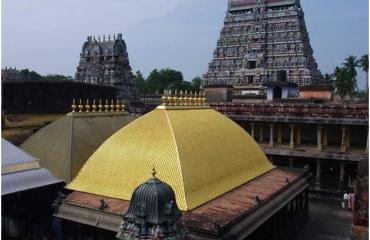நடரஜர் கோவிலின் விமானம்