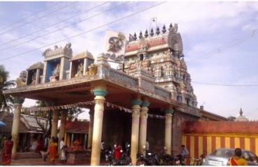 Thillai kalli amman temple Kopuram