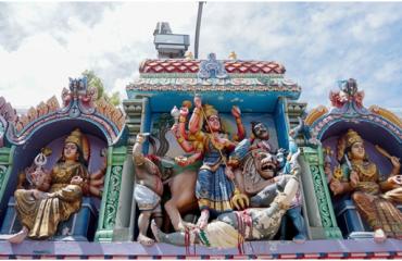 தில்லை காளி அம்மன் சிலை