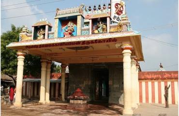 Thillai kalli amman temple enterance