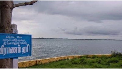 Enterance of veeranam Lake