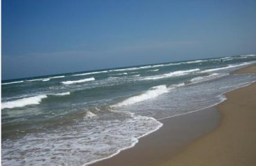 Cuddalore Silver Beach waves