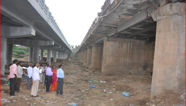 Bhuvanagri Vellar Bridge Inspection