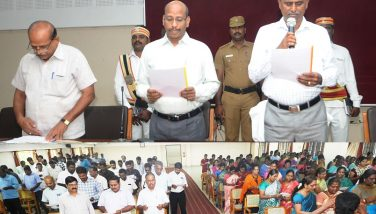 National Intageration day Oath