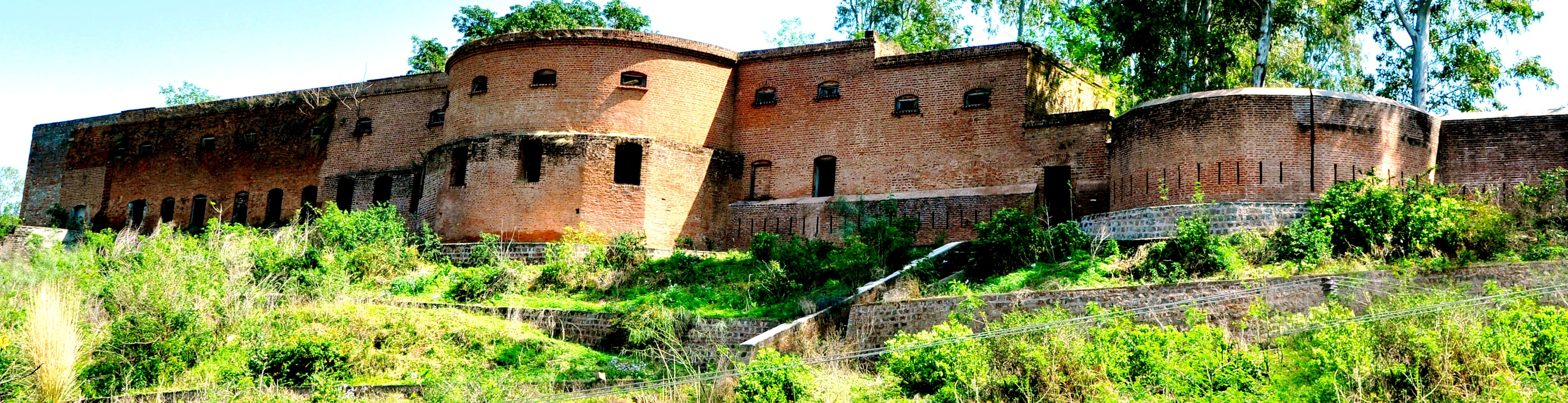SAMBA FORT FRONT VIEW LOCATED IN SAMBA TOWN