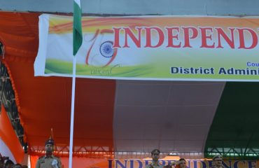 Independance Day Flag Hoisting