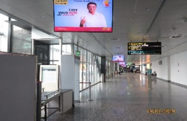 Various SVEEP Messages at different locations in KEMPEGOWDA INTERNATIONAL AIRPORT at bangalore rural