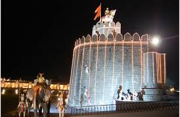 Shivshrushti night view