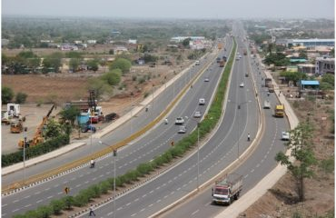 Four lane national highway