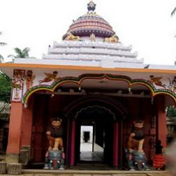 Front View of Biraja Temple