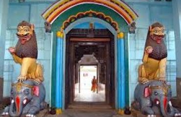 Main Gate of Temple Biraja, jajpur