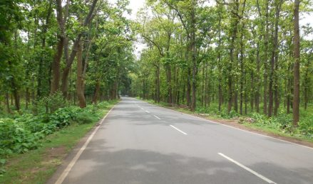 Way to Jhargram