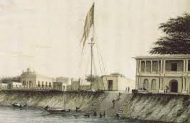 Old picture of serampore