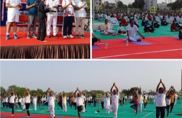 Image of International Yog Day