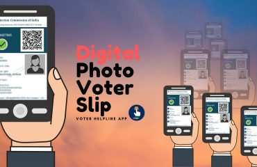 Digital Photo Voter Slip