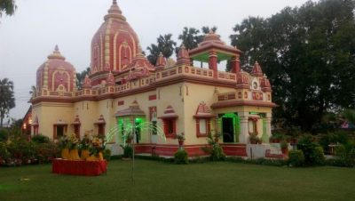 Lord-Ram-Sita-Birla-Temple-in-Evening