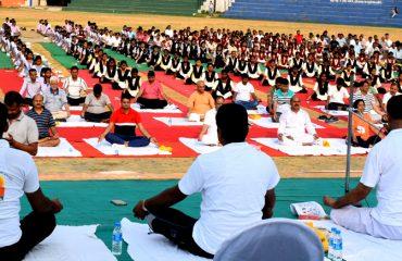 yoga diwas 2018