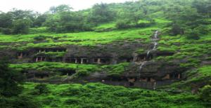 Pandav Caves Monsoon