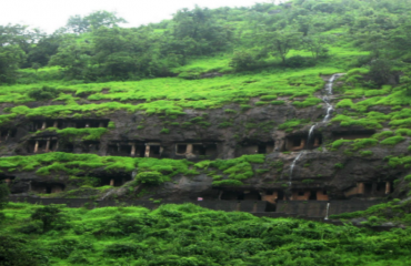 Pandav Caves Monsoon