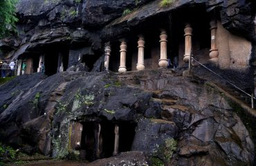 Pandav Caves Side