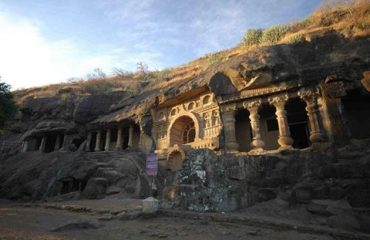 Pandav Caves Front