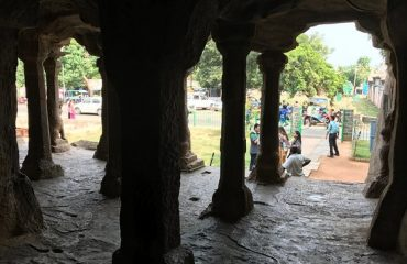 Pandav Caves Inside