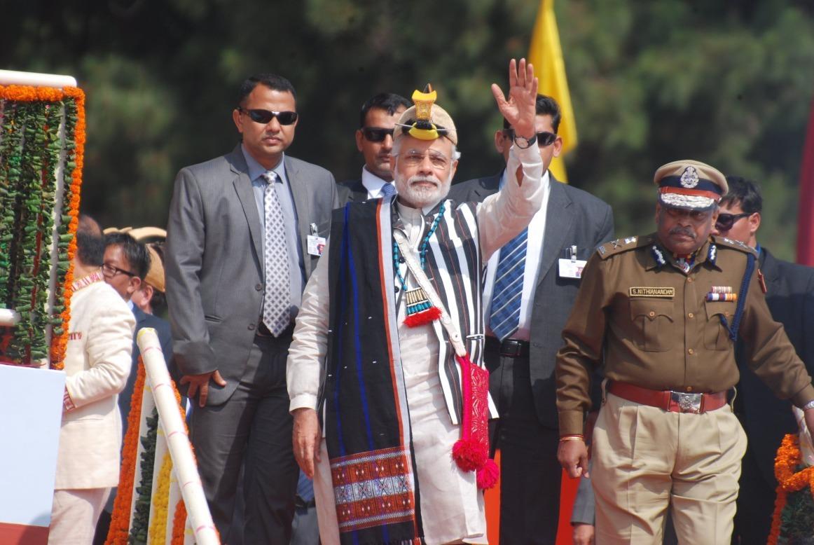 PM at Itanagar .