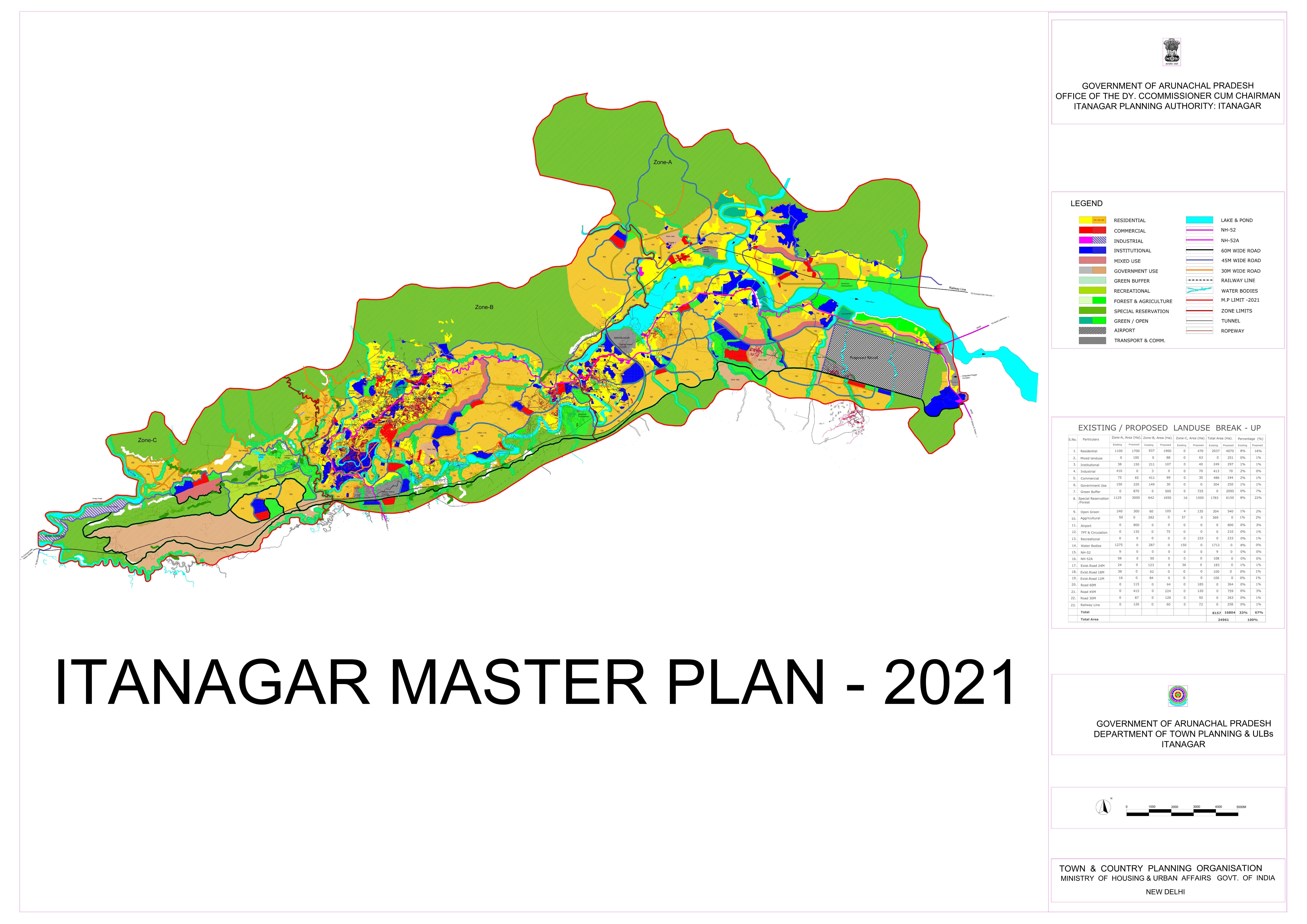 Itanagar Master Plan