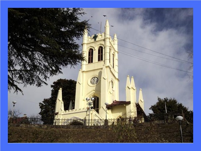 View of Church, Shimla