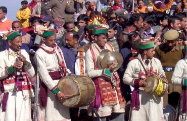 Traditional Dress and local Music Instruments