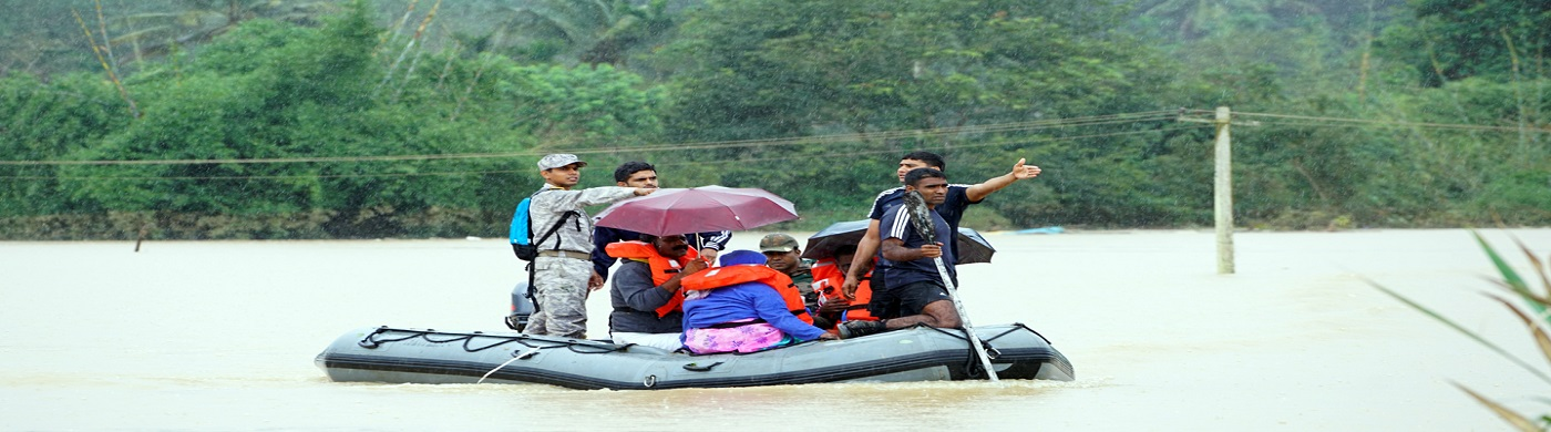 Stranded People Rescued