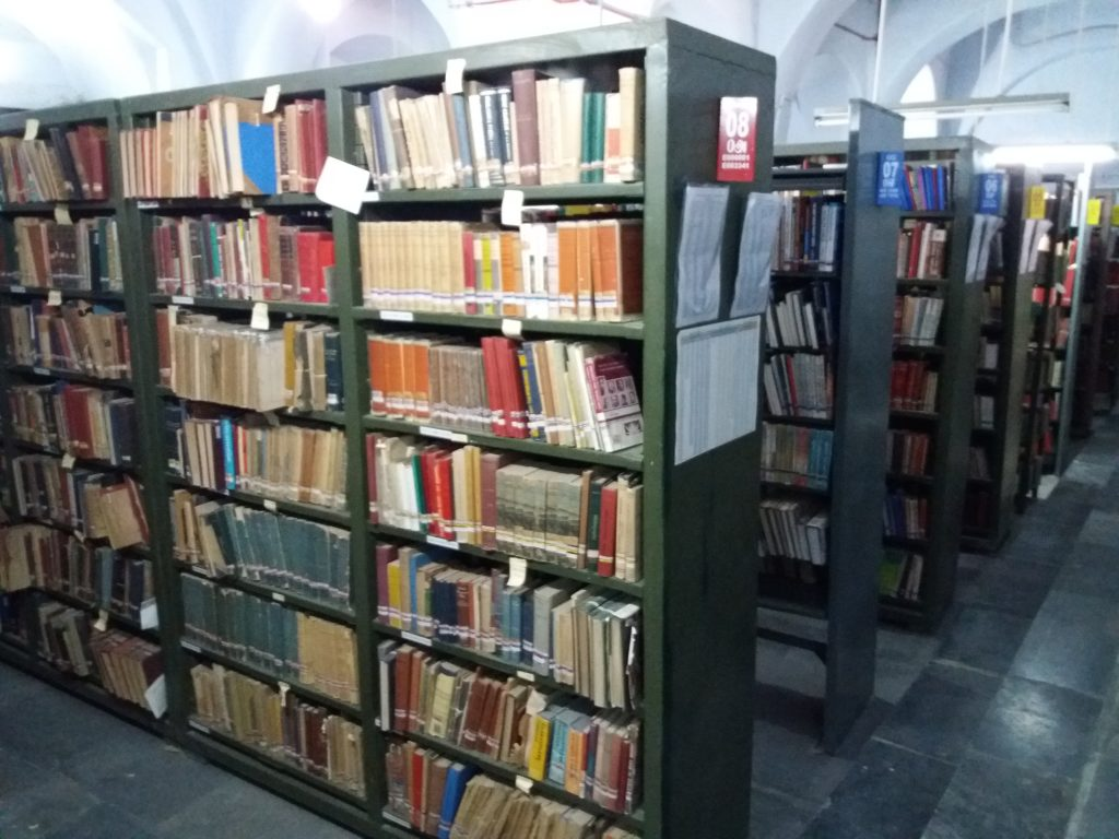 Image of Saraswathi Mahal Library Inside photo....