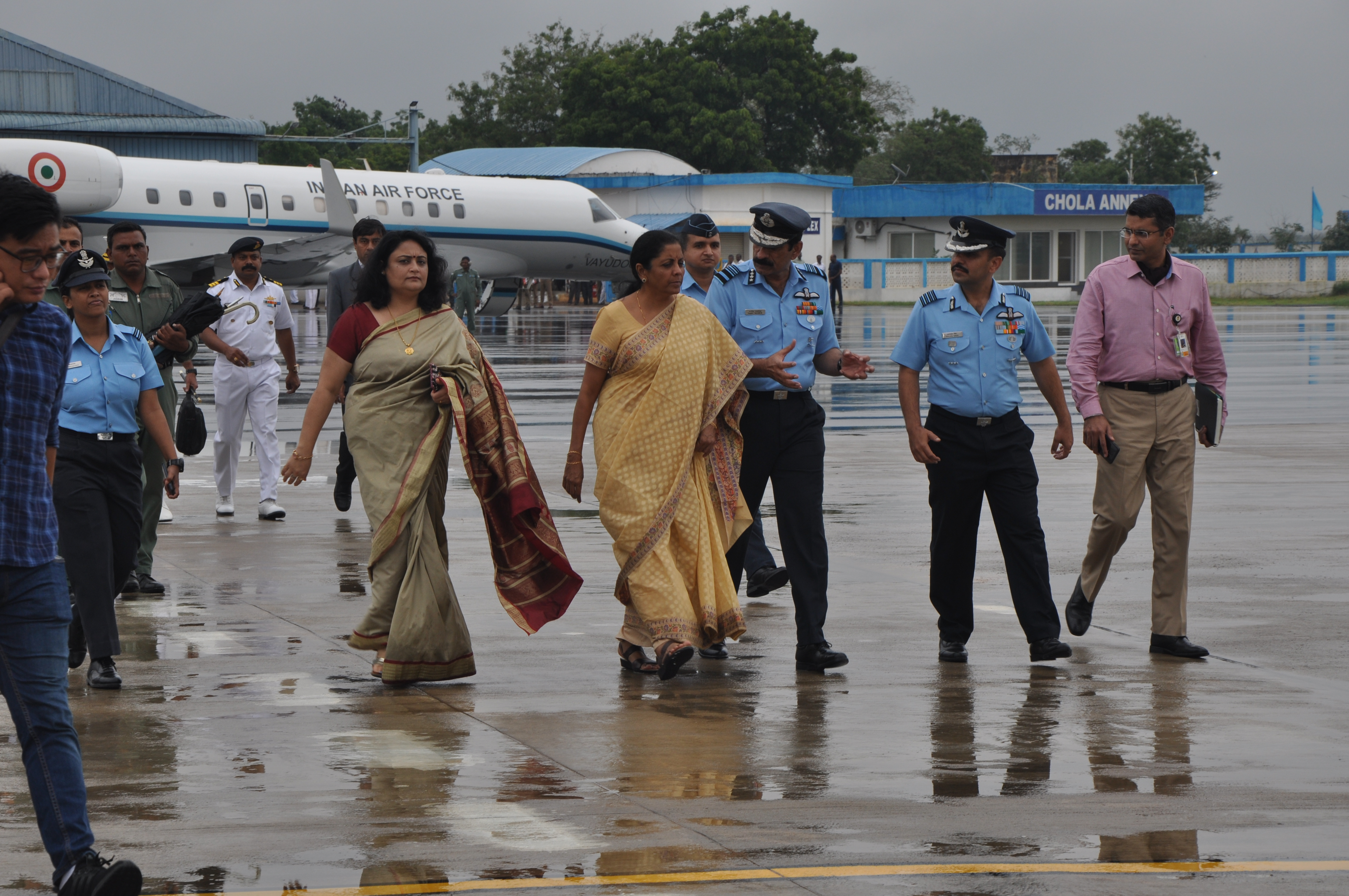 Photo of Defence minister visit