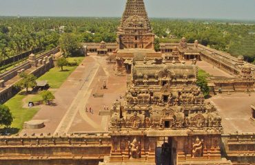 Image of Big Temple Top View.