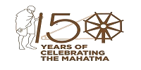 Image of Gandhiji 150 years celebration