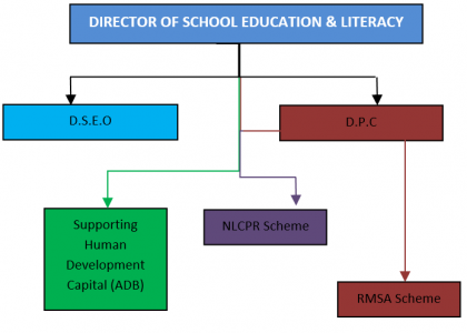 Organization Chart Education Department
