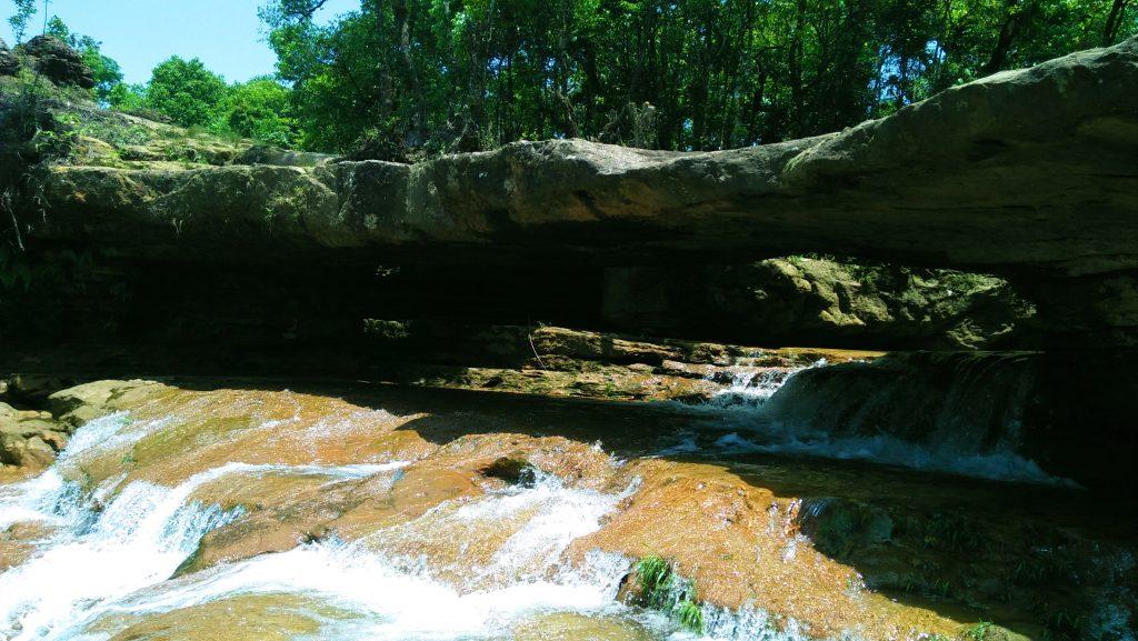 The Stone Bridge above Moopun Waterfalls