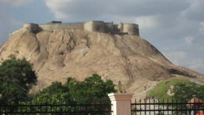Namakkal Fort Side view .