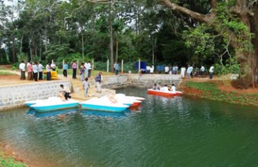 Kolli Hills Boating Image