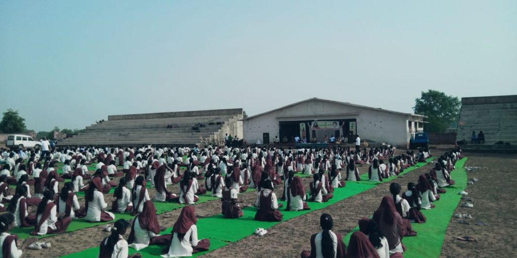 InternationalYogaDay-Bariyatu Stadium