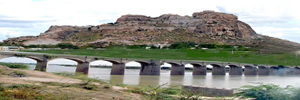 Yadgir Hill and Bridge Yadgir