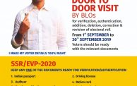 Special Summary Revision Of Electoral Roll 2020 1