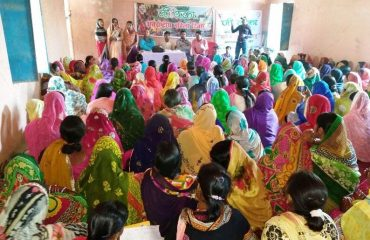 International Women's Day Function at Adapur-Block