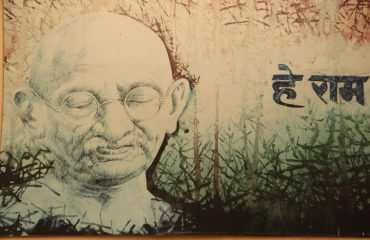 Photo of Gandhi JI